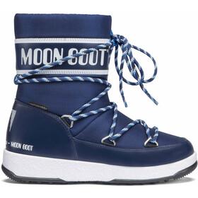 Moon Boot Sport WP Boots hiver Garçon, bleu/blanc